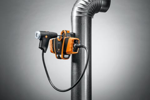 testo 330i – trådlös överföring av mätvärden till en smartphone eller surfplatta