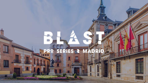 Press accreditation for BLAST Pro Series Madrid