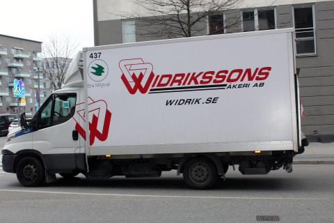 Widrikssons transporter först i Sverige med Bra Miljöval