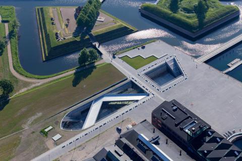 M/S Museet for Søfart luftfoto