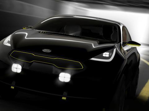 Laddat nytt koncept från Kia på Bilsalongen i Frankfurt