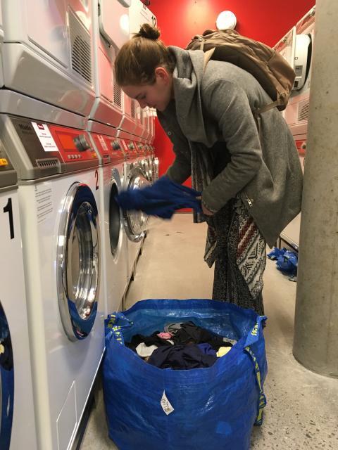 Kringsjå Studentby har fått Norges største vaskeri