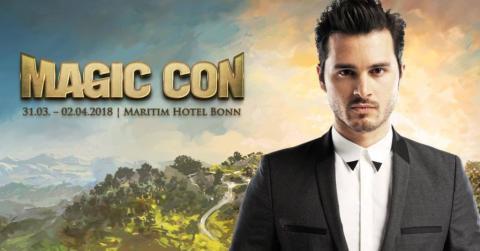Michael Malarkey aus der Hit-Serie Vampire Diaries kommt zur MagicCon 2018 nach Bonn