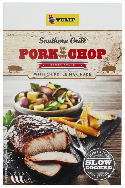 Southern Grill Pork Chop