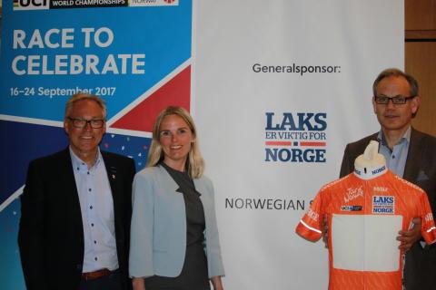 Norsk Sjømatråd ny generalsponsor til sykkel-VM 2017