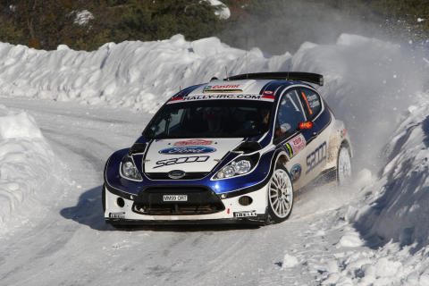 Hirvonen rattar nya Fiesta S2000 till seger i Monte Carlo-rallyt 2010 - bild 1