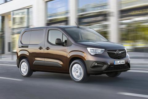 Nya Opel Combo:  Rymlig transportör med hög säkerhet och avancerad teknik