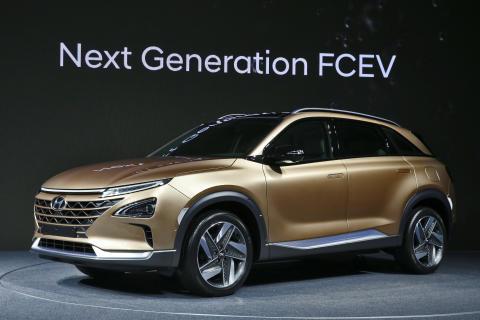 Hyundai Motor förhandsvisar nästa generationens vätgasdrivna SUV