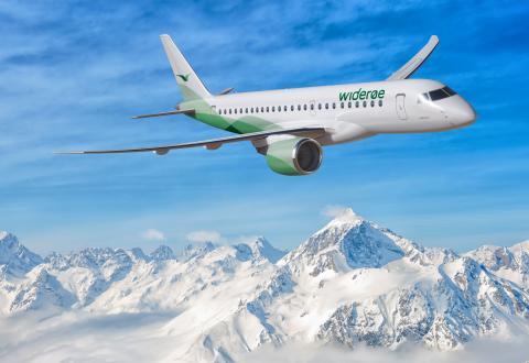 Widerøe anskaffer nye og miljøvennlige regionale jetfly