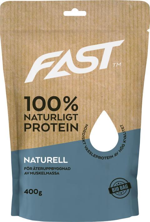 Naturligt Nordsikt Vassleprotein - Naturellt 400g