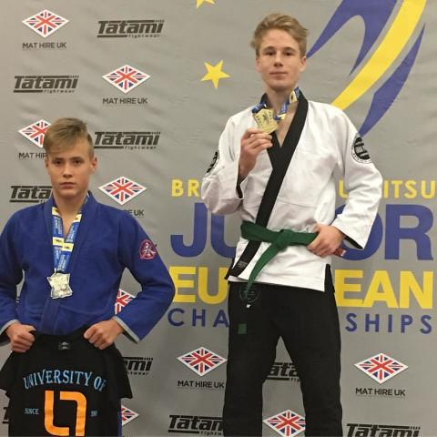 East Sheen Youngster brings home European Gold