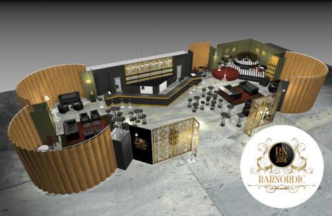 Stockholms lyxigaste pop up-bar BarNordic hittar du på Stockholmsmässan!