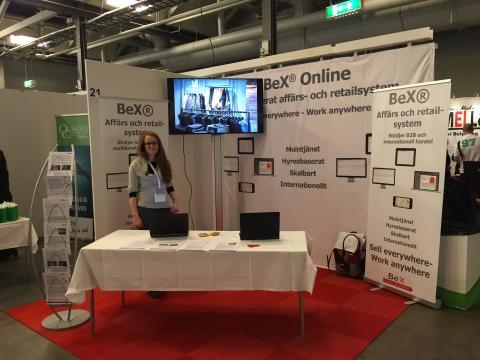 BeX ställer ut på Nacka Företagarträff 2016