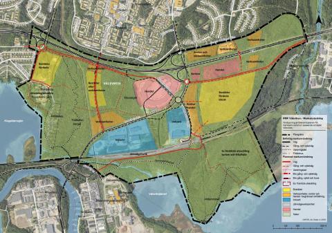 Klart för flera nya stadsdelar i östra Karlstad