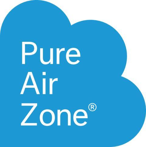 LOGO; Pure Air Zone® är ett registrerat varumärke och patenterad teknologi