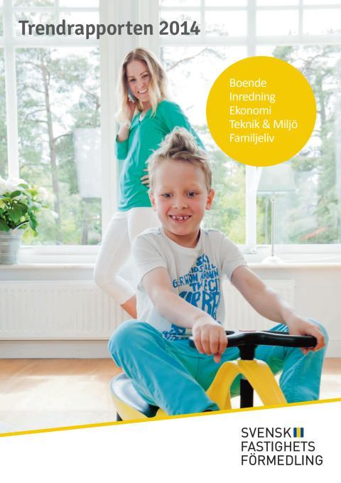 Trendrapporten 2014: Svenskarna drömmer om teknikfria rum och urban gardening