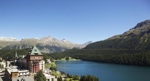 Badrutt's Palace, St. Moritz