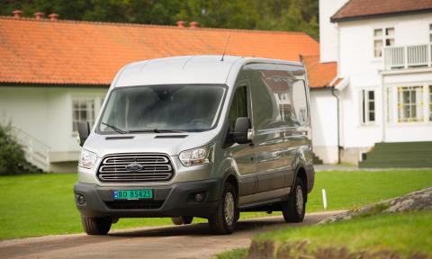 Nye 2-tonns Transit nylig lansert på det norske markedet