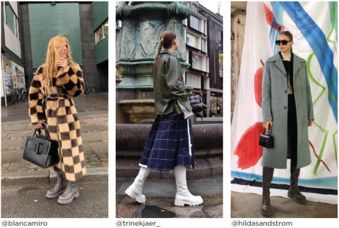 Vagabond Shoemakers´ Cosmo 2.0 spotted all over Copenhagen Fashion Week