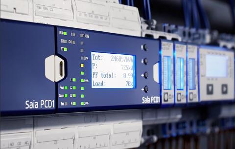 El-kvalitets analysverktyg, Saia PCD1.P1001-J30