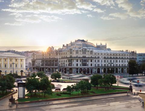 Metropol Hotel Moskau Aussenansicht