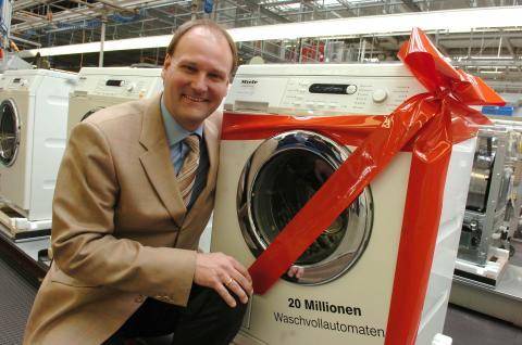 Miele 20 miljonte tvättmaskinen