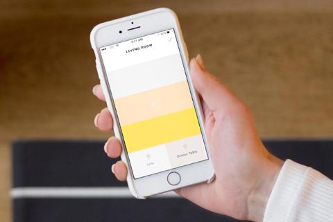 App för trådlös ljusstyrning från IKEA.