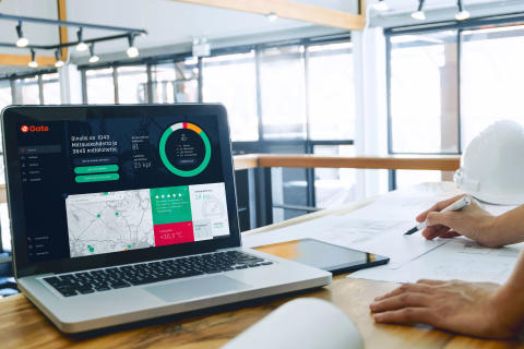 Cramon toimittama älykäs eGate-mittausjärjestelmä tukee vastuullista rakentamista  – olosuhdepalvelu ottaa haltuun työmaan kosteuden, lämmön ja pölyn