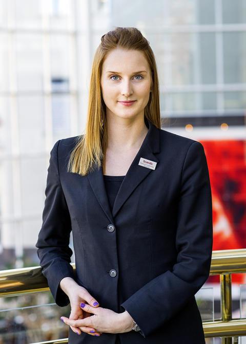 Hannah Billberg ny hotelldirektör på Scandic Segevång