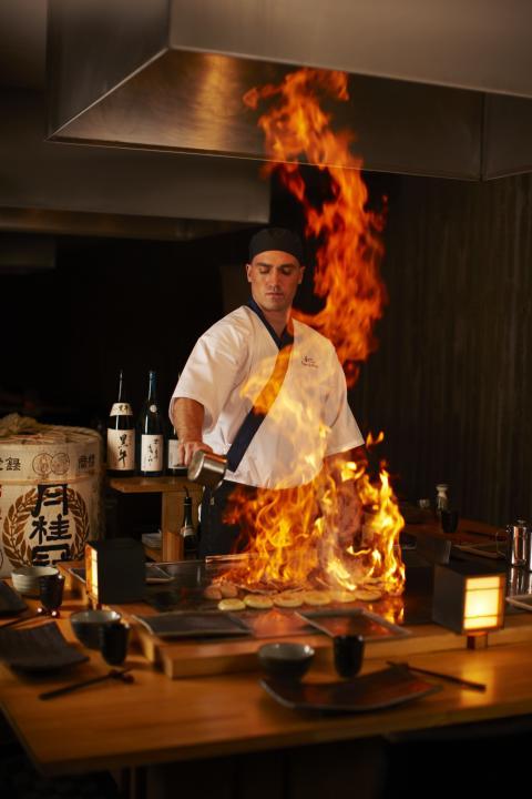 Restaurang Teppanyaki, en unik matupplevelse på Yasuragi Hasseludden
