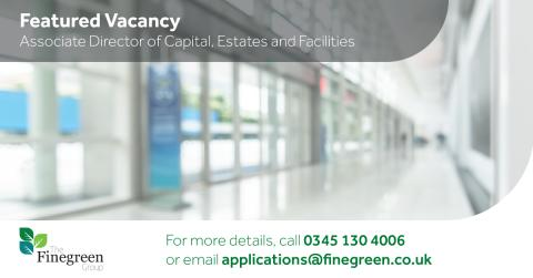 Featured Vacancy - Associate Director of Capital, Estates and Facilities, North West