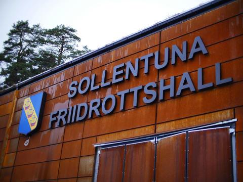 Sollentuna friidrottshall blir regional arena för norra Stockholm