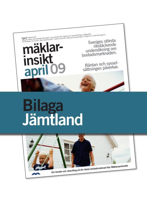 Jämtlands län: Fler bostäder till salu i Jämtlands län den närmaste tiden