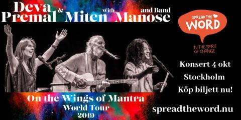 Världsturné - On the Wings of Mantra World Tour