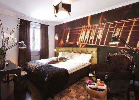 Nyrenoverade rum på Hesselby Slott