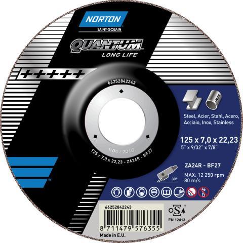 Norton Quantum - Grinding wheel Long Life