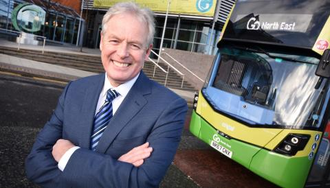 Go North East Managing Director Kevin Carr to retire