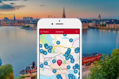 SMS Park blir heltäckande i Stockholms stad