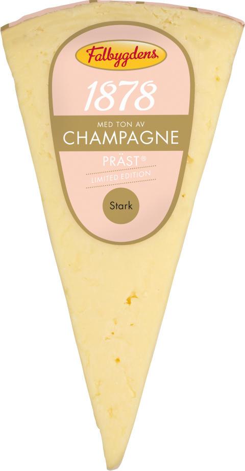Lagrad Präst® med ton av Champagne sätter guldkant på festen
