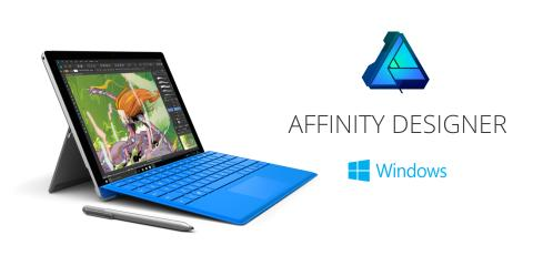 Bestseller Affinity Designer comes to Windows
