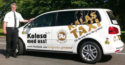 Taxi Göteborg fyller 90 år – bjuder på gratis kalastaxi och guidade turer i Göteborg