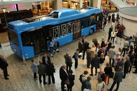 Unik satsning på elbusslinje i Göteborg