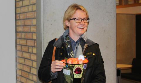 Sarah Nilsson är årets pedagog i Vellinge kommun
