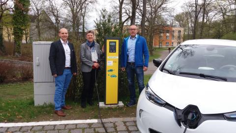 Stadt Teublitz macht e-mobil: