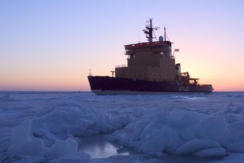 Välkommen på pressträff på isbrytaren Atle den 19 juni