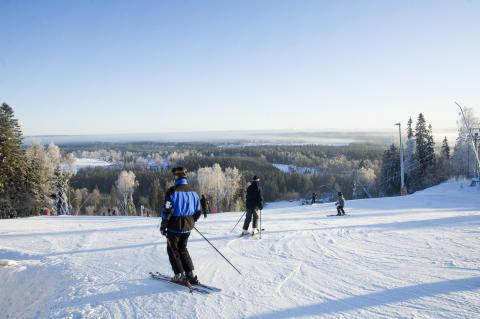 Skiløb i Mullsjö