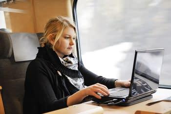 SJ lanserar digital ombordtjänst med musik, tidningar och böcker