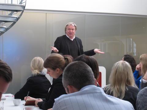 """""""Storytelling är Story listening"""" säger Matts Heijbel på seminariet Corporate Storytelling i sociala medier"""