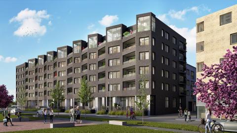 Sundprojekts projekt Prisma i Hyllie slutsålt långt innan inflyttning