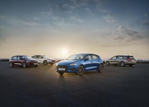 Nye Ford Focus 2018